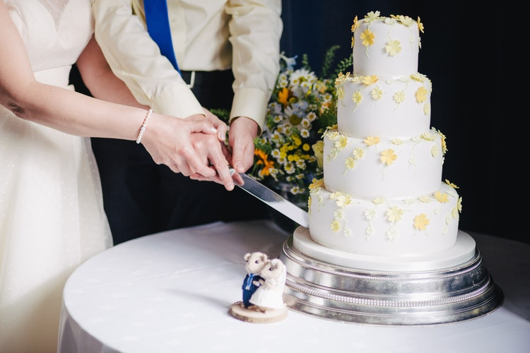 tarta de boda masia bodas